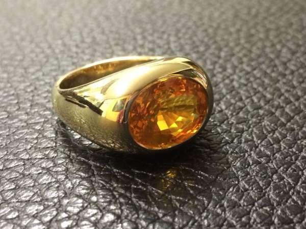 Anello Zaffiro Honey - Ring honey sapphire