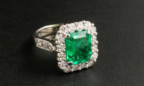 Anello Smeraldo - Ring emerald