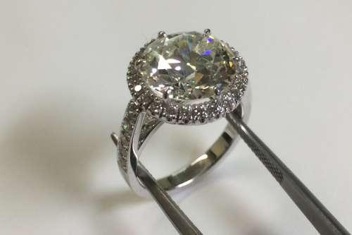 Anello Diamante Old Cut - Ring diamonds old cut