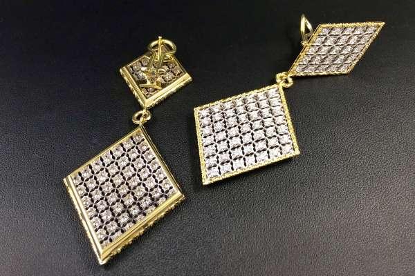 Florentine style Earrings